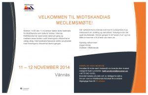 Medlemsmöte 11-12 November